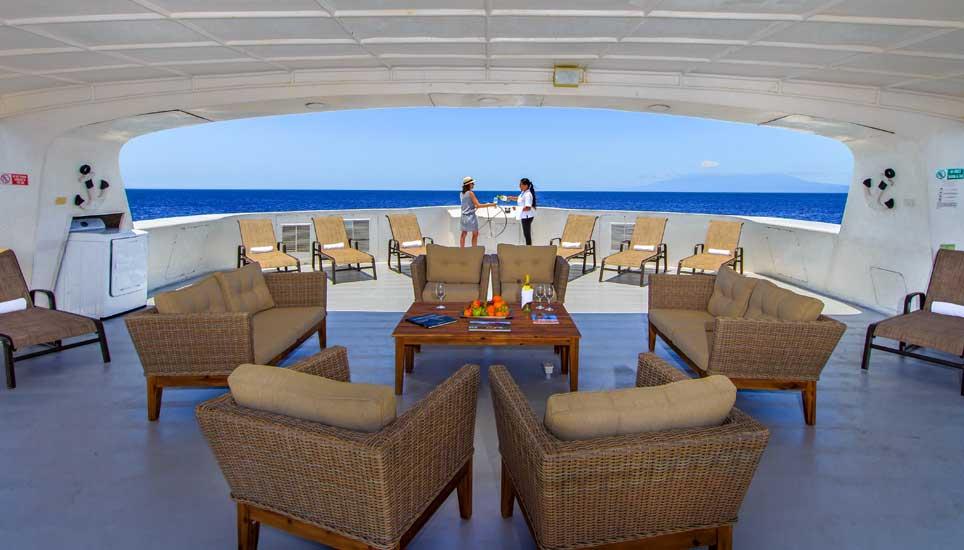 Treasure of the Galapagos deck