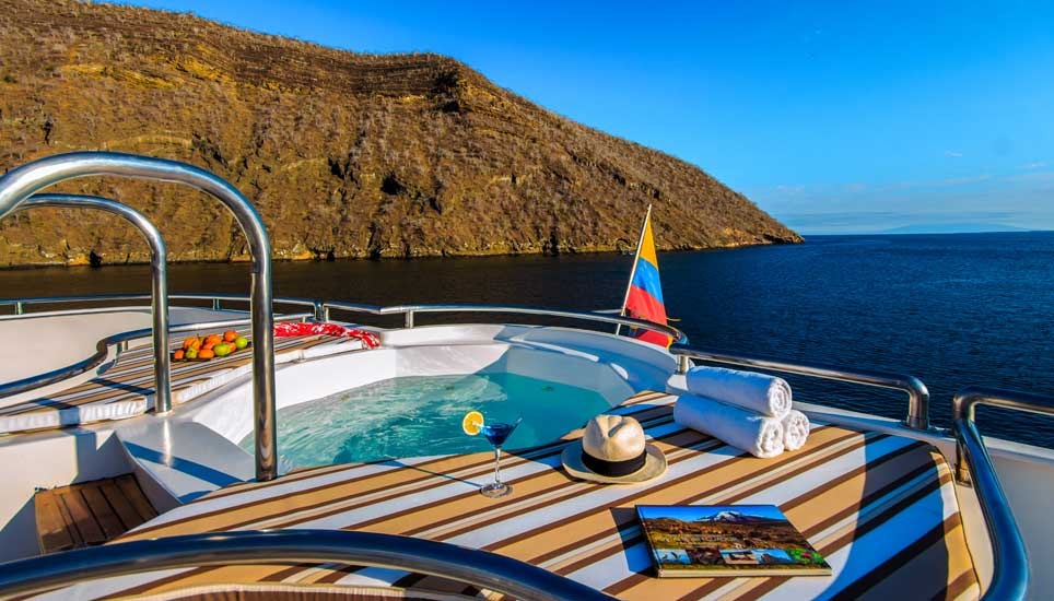 Treasure of the Galapagos sundeck