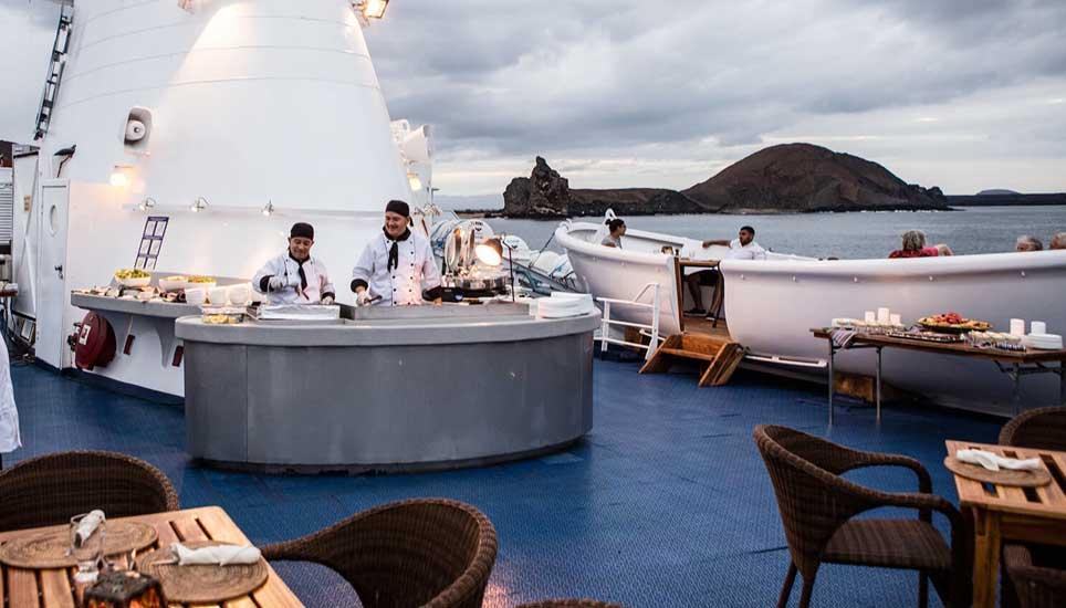 MV Galapagos Legend decking