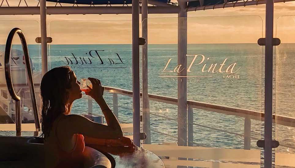 La Pinta deck