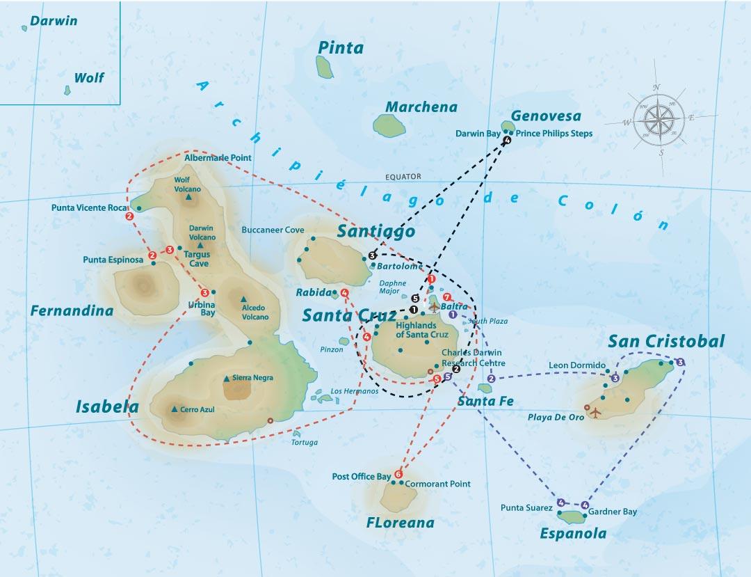 la-pinta-itinerary