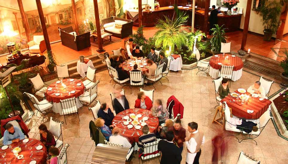 Santa Lucia dining