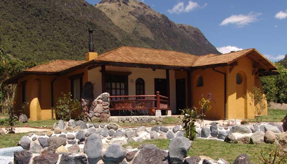 Termas Papallacta cabin