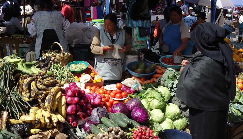Otavalo veg market