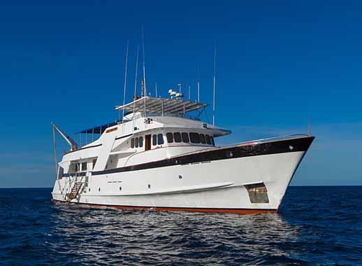 Galapagos yacht - beluga