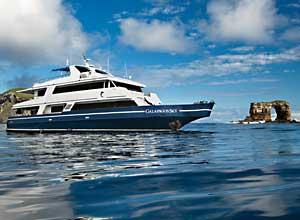 Galapagos Sky dive boat