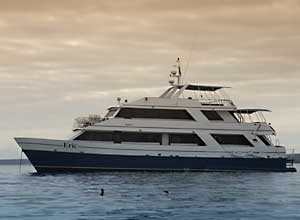 Galapagos yacht - Eric