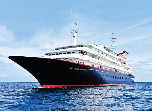 Silver Galapagos cruise ship