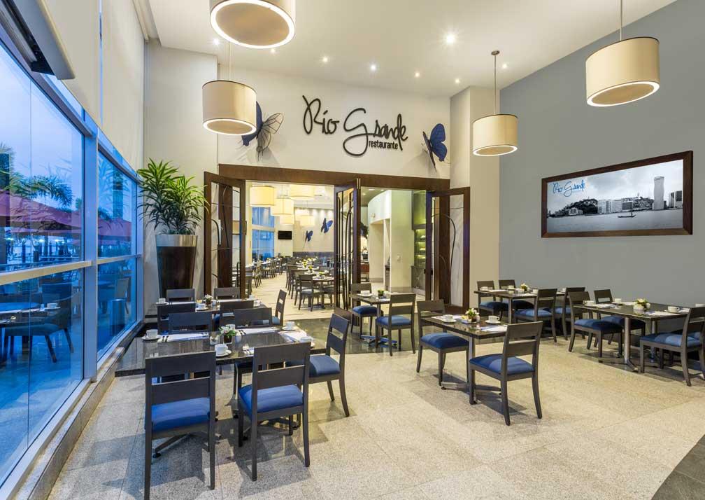 Wyndham Guayaquil breakfast room
