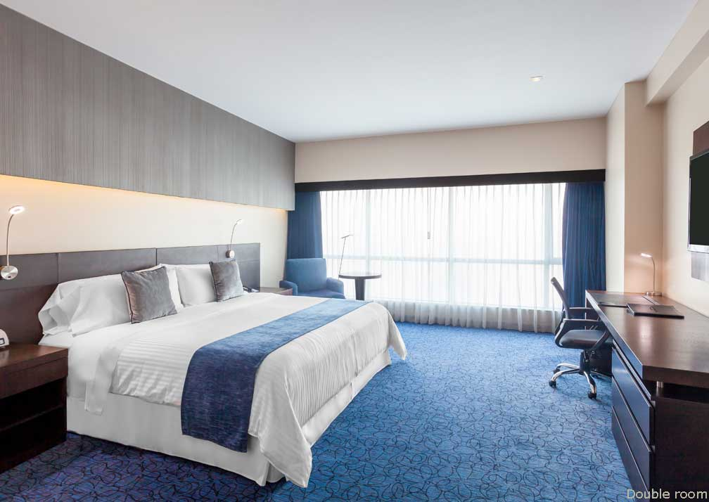 Double room at Wyndham Guayaquil