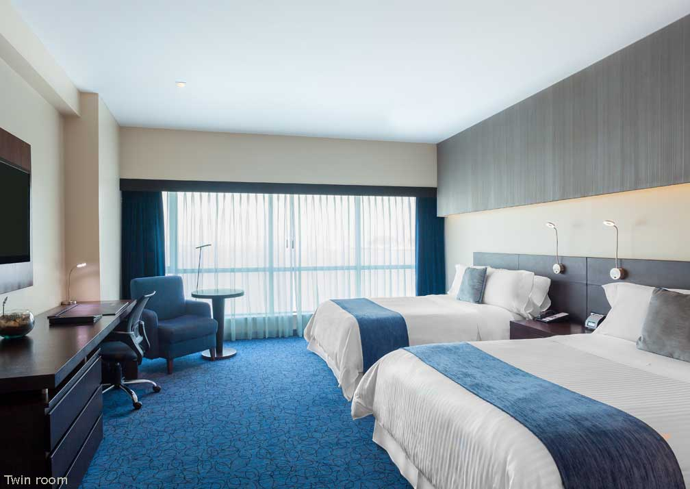 Twin room at Wyndham Guayaquil