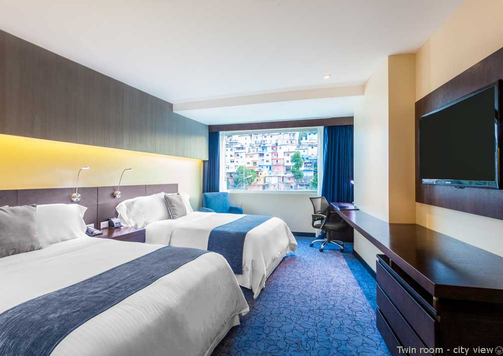 Wyndham Guayaquil city view roomm