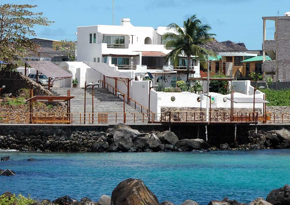 Casa Opuntia and the boardwalk